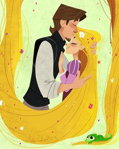 50 Ideas For Disney Art Ideas Tangled Movies Rapunzel Y Flynn, Rapunzel And Eugene, Disney Rapunzel, Disney Princess Art, Disney Princess Pictures, Arte Disney, Disney Fan Art, Disney Pictures, Disney Love