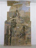 Moscow, Foreign Ministry MID by Valery Koshlyakov Ap Studio Art, Building Art, A Level Art, Sense Of Place, Architectural Features, Gcse Art, Built Environment, Environmental Art, Urban Landscape