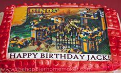Dinosaur Lego Birthday Party Ideas