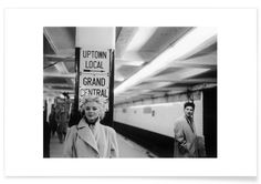 Marilyn Monroe at Grand Central Station, New York 1955 - Vintage Photography Archive - Premium Poster