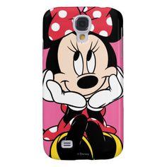 Red & White Minnie 1 Samsung Galaxy S4 Case