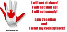 Do not allow them to take free speech basic right away. Watch for classic Nazi training. Steeped in hypocrisy the accuse others of that which they are guilty. Canada is the only country in the world that hates Canadian males. Canadian Things, I Am Canadian, Constitution Of Canada, Cognitive Dissonance, Leadership Tips, Justin Trudeau, Pray For Us, Close To My Heart, We The People