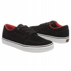 188e019789 Vans Men s COLLINS Shoe Black White Red