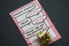 like a pretty petunia: [Valentine] Peas be Mine