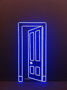 Add a door anywhere in your home with this neon light sculpture                                                                                                                                                                                 More