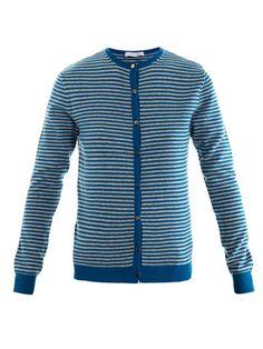 Richard Nicoll Stripe cashmere cardigan