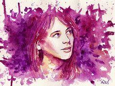 «Солнечный портрет» акварелью - Ярмарка Мастеров - FreeArtist - Ярмарка Мастеров http://www.livemaster.ru/topic/420577-solnechnyj-portret-akvarelyu