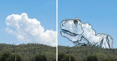 My name is Martin Feijoó (aka Tincho) and I'm the Cloud Shaper. The Shaping Clouds Project is a series of illustrations based on clouds I photographed during my last trip to Mexico.