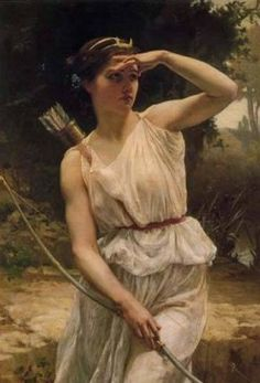 Ártemis: deusa da Lua e da caça.
