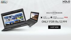 Xolo Chromebook Only For Rs.12,999/- Goosedeals is leading destination for cashback coupons and best deals. Goosedeals offering some of the best deals and best products at very affordable prices, also our website is providing discounts with lowest prices. Grab best deals and cashback coupons More Details visit: http://goosedeals.com/home/details/snapdeal/75132.html