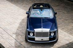 Así es el automóvil considerado el más caro de la historia,12'6 millones $.New Rolls Royce Sweptail 103 E.