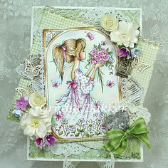 """Lili of the Valley Girlie stamps """"Summer"""""""
