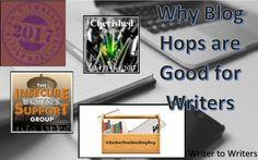 Why Blog Hops are Good for Writers #bloggingtips #authorbrand #authorblog #authorplatform Blog Tips, Tool Box, Writers, Blogging, Author, Good Things, Toolbox, Writer, Blog