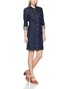 Vestido vaquero #modamujer #amazonmoda #vestidos #colección20172018 #outfits #fashion  #moda #shopping #style #mujer #invierno #ropa #ropaparaaltas #casual #vestidodenim #vestidovaquero #denim