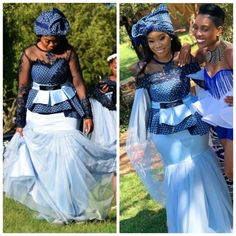 Stylish South Africa Shweshwe Dresses Fshion In 2020 Zulu Traditional Attire, African Traditional Wedding Dress, African Fashion Traditional, Traditional Wedding Attire, Traditional Outfits, South African Fashion, Latest African Fashion Dresses, Zulu Wedding, Wedding Suits