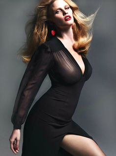 Lara Stone by Mert Alas & Marcus Piggott for Vogue Paris March 2014