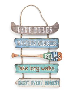 Lake+Rules+Sign