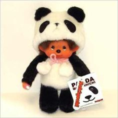 panda monchichi!