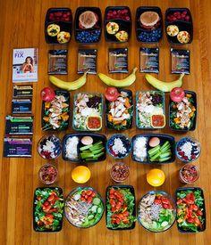 Meal Prep for the 21 Day Fix 2,100-2,300 Calorie Level   BeachbodyBlog.com