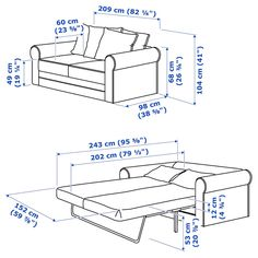 GRÖNLID sleeper sofa is extra deep, super easy to fold out – and has a thick bed mattress to make it extra comfortable to sleep on. Sofa Back Cushions, Deep Seat Cushions, Mattress Covers, Foam Mattress, Sleeper Sofa, Sofa Bed, Convertible 2 Places, Powder Coating