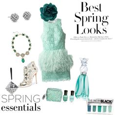 Senza titolo #64 by steffyyeah on Polyvore featuring polyvore, moda, style, Daizy Shely, Oscar de la Renta, Bao Bao by Issey Miyake, Blue Nile, Ciner, Anna Sui, Deborah Lippmann, The New Black and H&M