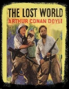 The Lost World is a novel by Sir Arthur Conan Doyle concerning an expedition to a plateau in the Amazon basin of South America where prehistoric animals, dinosaurs and other extinct creatures still survive. The character of Professor Challenger was introduced in this book. The novel also describes a war between Native Americans and a vicious tribe of ape-like creatures.
