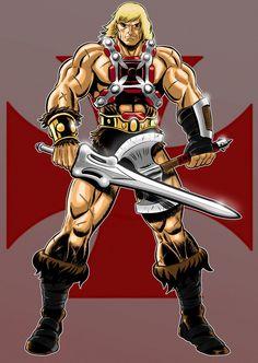 He-Man Masters of the Universe He Man Desenho, Comic Books Art, Comic Art, He Man Thundercats, Dc Comics, Minions, Morning Cartoon, Cult, Mundo Comic