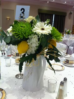 Italian table centre pieces