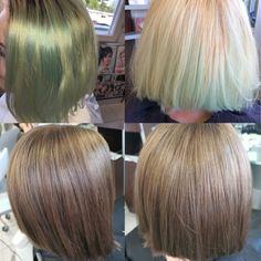 Das grün muss weg 😉 #newcolor #colorremover #igoraroyal  @jenniferbufalino Long Hair Styles, Beauty, Hairstyle, Hairdos, Long Hairstyle, Long Haircuts, Long Hair Cuts, Beauty Illustration, Long Hairstyles
