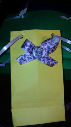 Yellow Gift Bag $1
