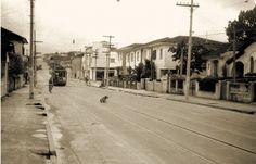 fotos antigas bairro de pinheiros - Rua Fradique Coutinho