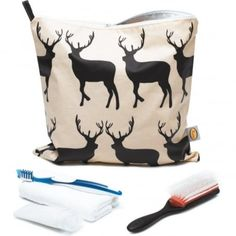Anorak Kissing Stags Large Toiletry Bag