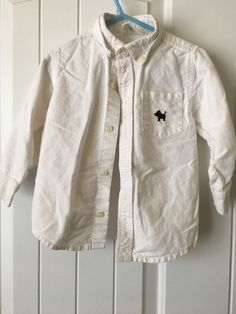 Toddler Boys Shirt Size 2 yrs - White - Long Sleeves - Button Front w/Collar by  #Crazy8 #DressyEverydaycasual