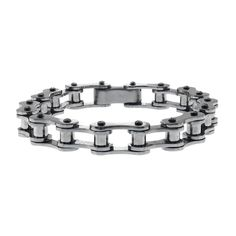 Thin Motorcycle Chain Bracelet