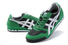 Discount Onitsuka Tiger Ultimate 81 Shoes Green White on Sale - Men's Onitsuka Tiger Shoes