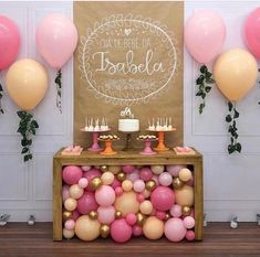 47 Ideas For Birthday Decorations Table Adult Baby Shower Balloon Decorations, Birthday Party Decorations, Baby Shower Decorations, Birthday Parties, Baby Party, Baby Birthday, Birthday Ideas, Shower Gifts, Party Planning