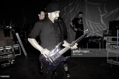 Rob Caggiano of Volbeat backstage at Wuhlheide, Berlin, Germany, 31st May 2013.