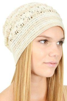 crochet beanie via Artisan Crochet from Hearts