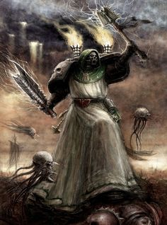 Thought of the Day: Examine your thoughts! Warhammer Armies, Warhammer 40k Art, Warhammer Fantasy, Dark Angels 40k, Angel Of Death, Angels And Demons, Angel Art, Space Marine, Art Model