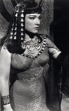 Anne Baxter in The Ten Commandments movie.
