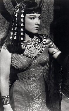 Anne Baxter in The Ten Commandments movie.