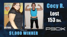 August 2012 Monthly Winner---> Cecy R. lost 153 lbs. and won a monthly prize of a thousand dollars! What are you waiting for?      Enter Now!