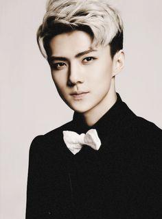 He is beautiful. Like really beautiful. I am loosing my self confidence as a girl. Oh Sehun from EXO and EXO-K Luhan, Kai, Kris Wu, Kpop Love, Hot Guys, Xiuchen, Wattpad, Exo Ot12, Kpop Exo