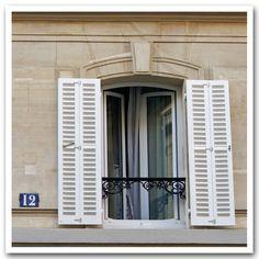 window number twelve, paris.