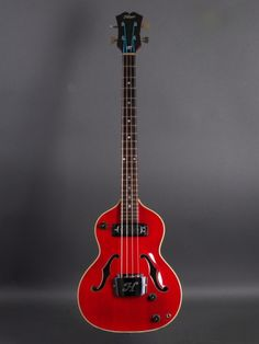 "1967 Hoyer Type 43 ""London Bass"" - Cherry"