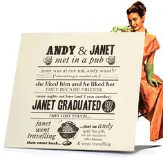 Tell your story in a beautifully designed vintage wedding invitation. Custom-designed for you