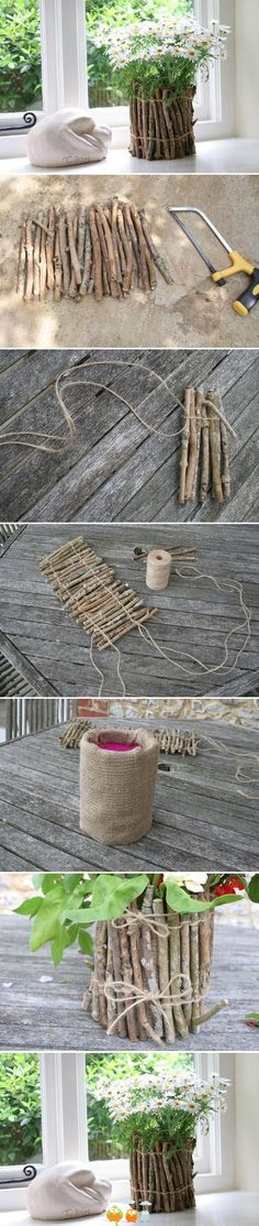 Diy decoration for flowers