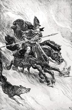 Odin or Wotan