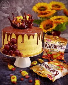 Torte Recepti, Kolaci I Torte, Baking Recipes, Cake Recipes, Dessert Recipes, Desserts, Torte Cake, Cake Baking, No Bake Cake