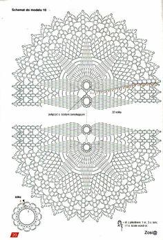 View album on Yandex. Japanese Crochet Patterns, Free Crochet Doily Patterns, Crochet Doily Diagram, Crochet Circles, Crochet Borders, Crochet Mandala, Crochet Chart, Crochet Squares, Crochet Doilies